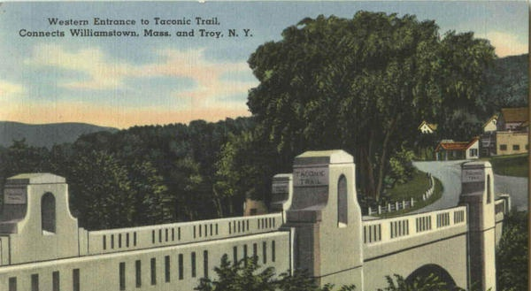 Taconic Trail bridge, Petersburg, NY