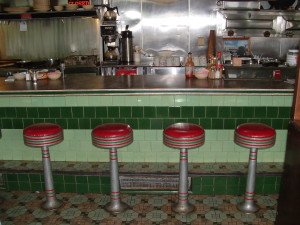 Sullivan's Diner counter