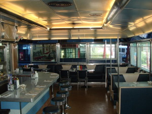 Chris' Diner interior